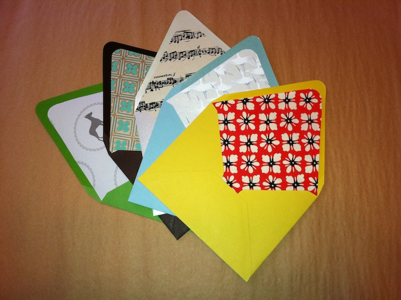 colored envelopes - Decorative Envelopes